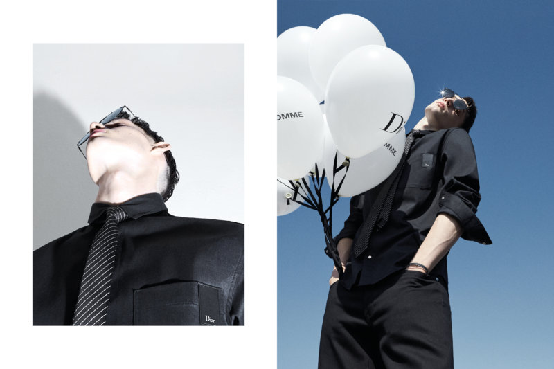 DIOR DENIM STYLISME BY MAURICIO NARDI PICTURE BY ALESSIO BOLZONI FOR DIOR HOMME_2