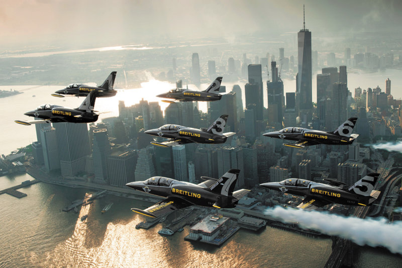 Breitling Jet Team - New York - American Tour