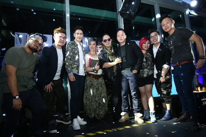 Azraei Rahim, Kelvin Mok, JC Chee, Aileen Soh, Olivier Burlot, Jason Kwong, Amber Kwan, Calvin Chong and Justin Lee
