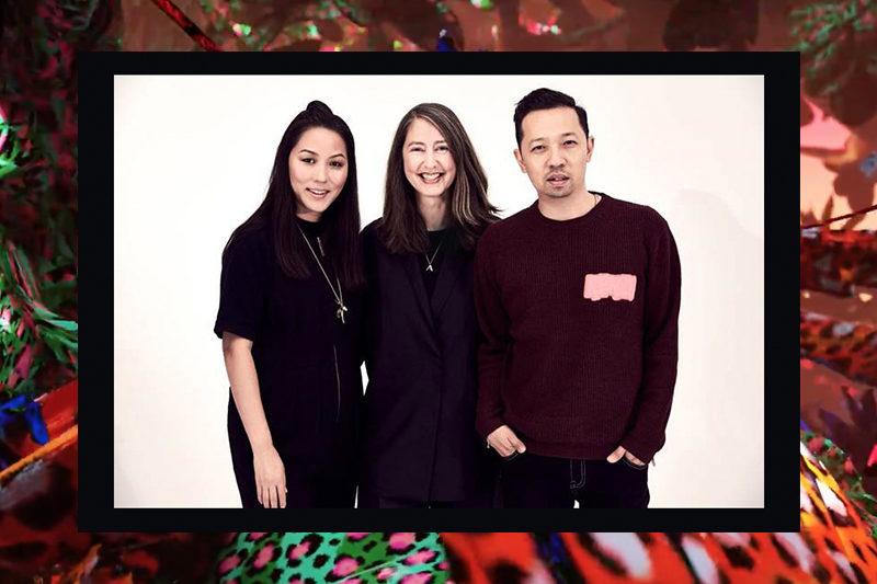 kenzo x HM - Carol Lim, Ann-Sophie and Humberto Leon