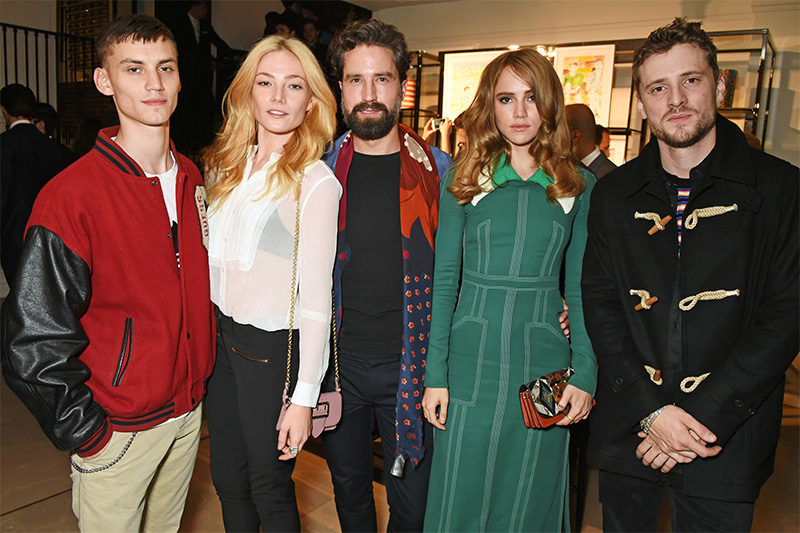 Burberry LC:M Event At 121 Regent Street Hosted By Christopher Bailey – Inside