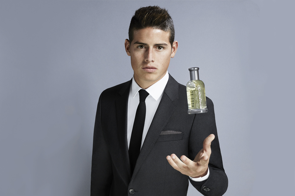 5 Minutes With James Rodriguez The New Face Of Boss Bottled
