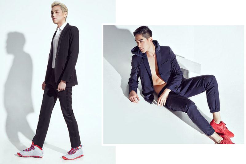 Lucas Lau and Feng Xiang