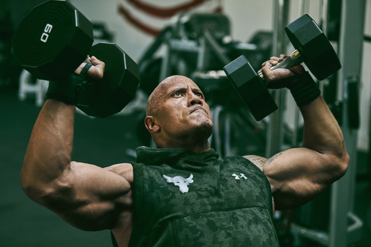 8b991f4301 Under Armour x Dwayne Johnson pays homage to the US Military - Men's ...