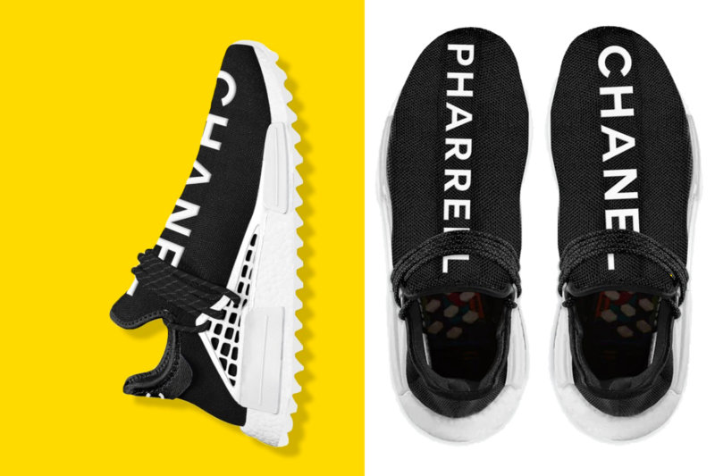 ce50d726a2bc9 A guide to buying the Chanel x Pharrell x Adidas NMD sneakers ...