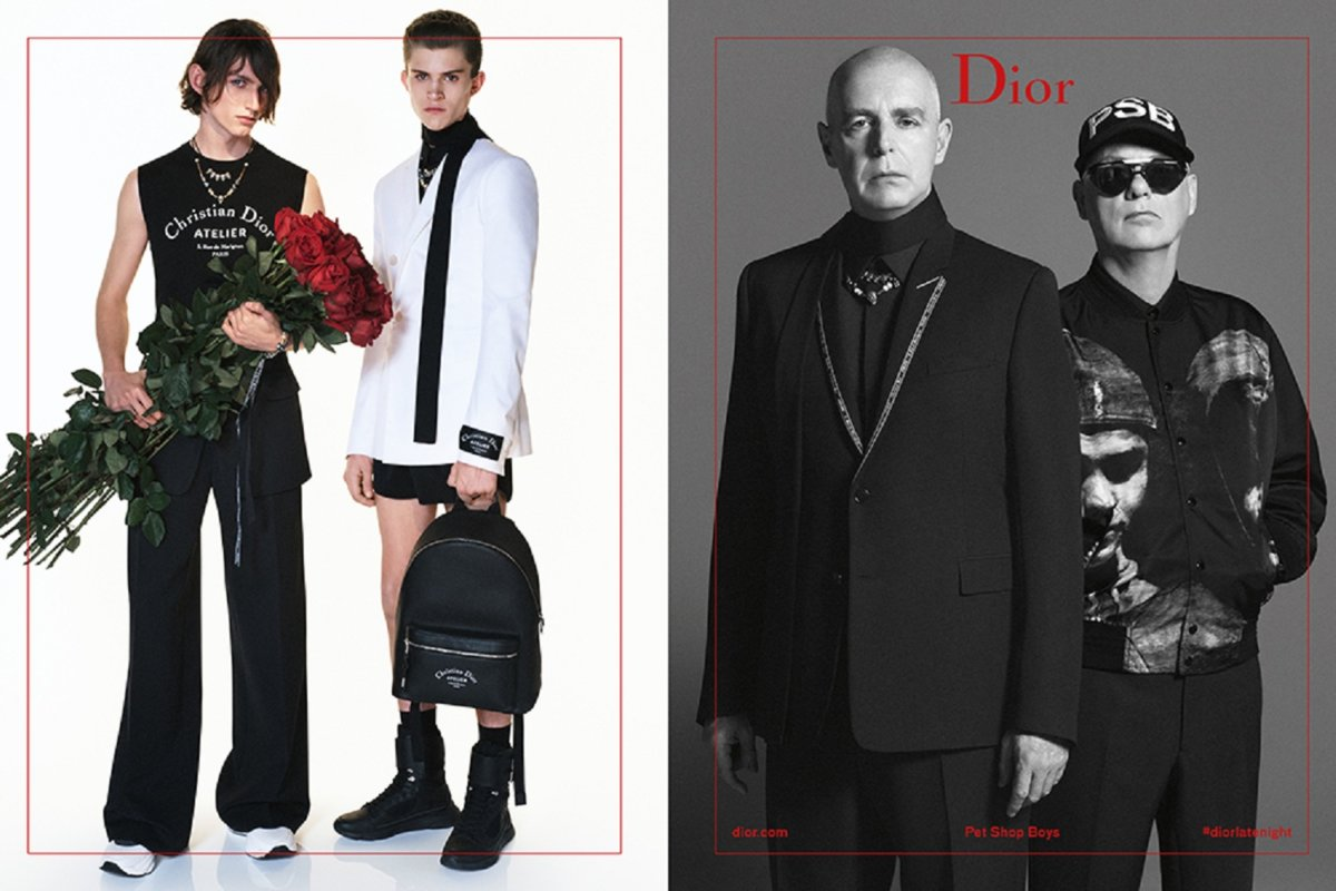 b7fdc6fd243c Pet Shop Boys star in Dior Homme Summer 2018 ad campaign - Men s ...