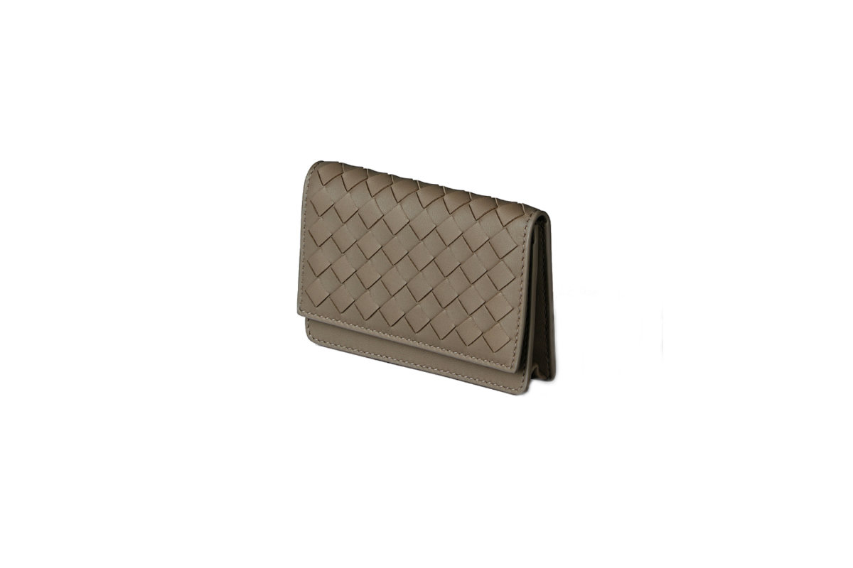 new styles 58c64 a9f8f Bottega Veneta intrecciato nappa card case - Men's Folio Malaysia