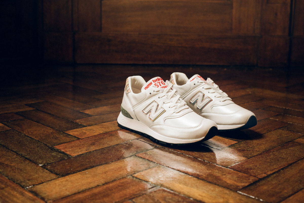 pretty nice 20374 7ee7e Paul Smith and New Balance 576 Made In England - Men's Folio ...