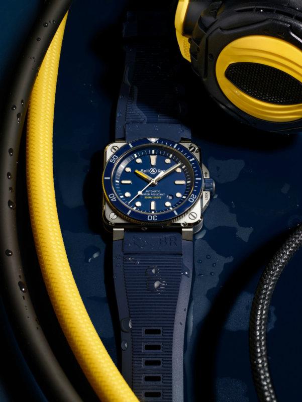 BR03-92 Diver Blue