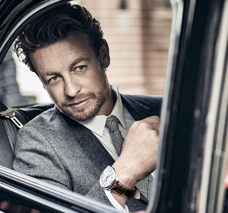 Simon Baker wearing Master Collection