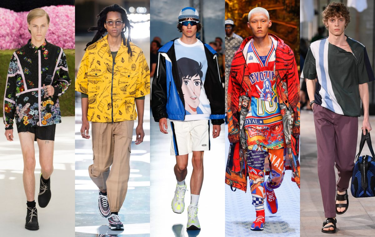 9ffbf9e2 The 8 biggest fashion trends from Spring/Summer 2019 runways - Men's ...
